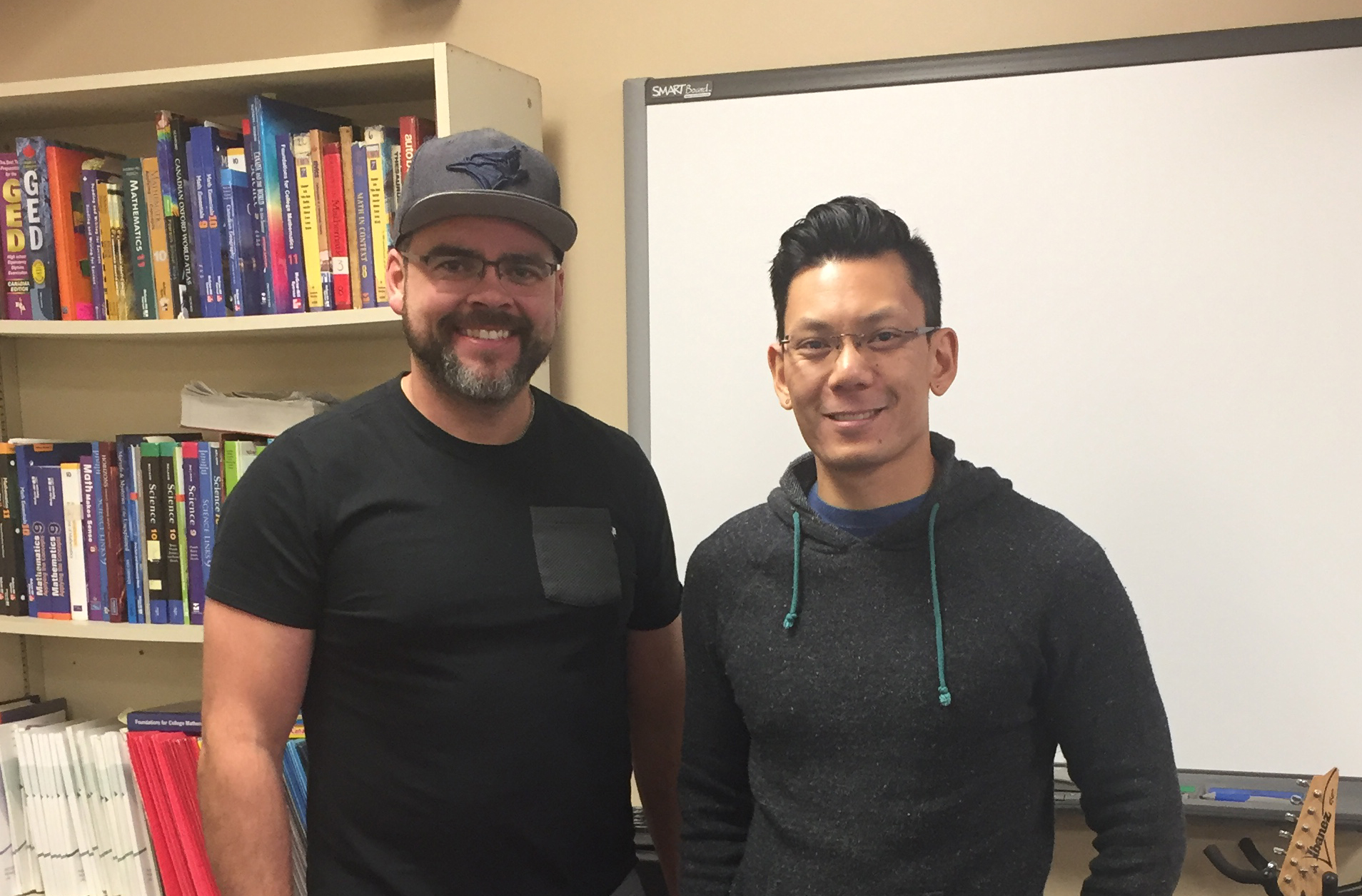 Teacher Joel and Teacher Don