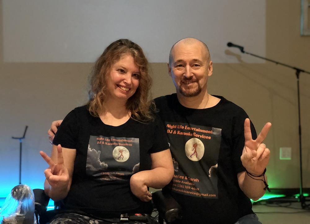 Sarah and Charles Horton